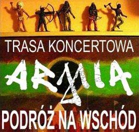 Armia - Podróż na Wschód - koncert Pod Palmą