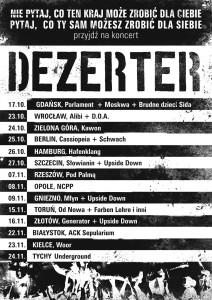 DEZERTER - Koncert Pod Palmą Rzeszów