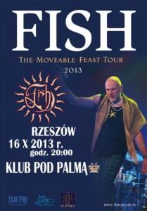 16 października 2013, Fish koncert PodPalmą Rzeszów