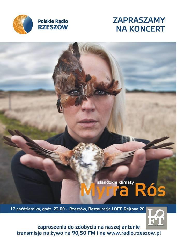 Myrra Rós Loft koncert w Rzeszowie