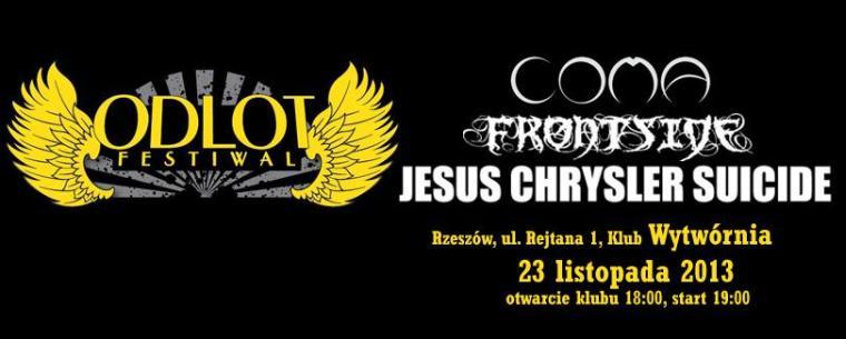 Jesus Chrysler Suicide, Frontside, Coma Odlot Festiwal Rzeszów
