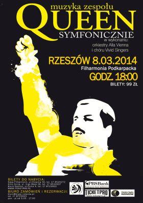 Queen symfonicznie w Rzeszowie