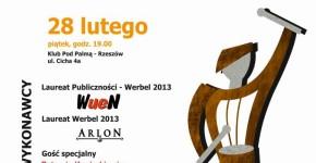 Werbel 2013 -plakat koncertowy
