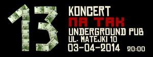 NA TAK Koncert w rzeszowskim klubie Underground