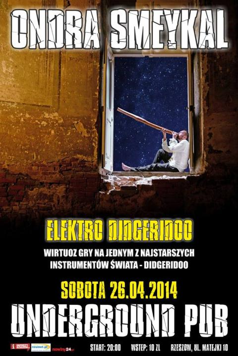 Ondra Smeykal koncert w klubie Underground