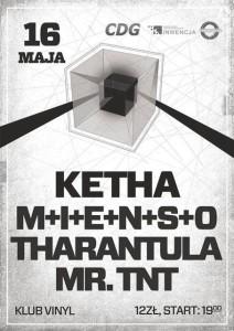 Koncert Tharantula klub Vinyl