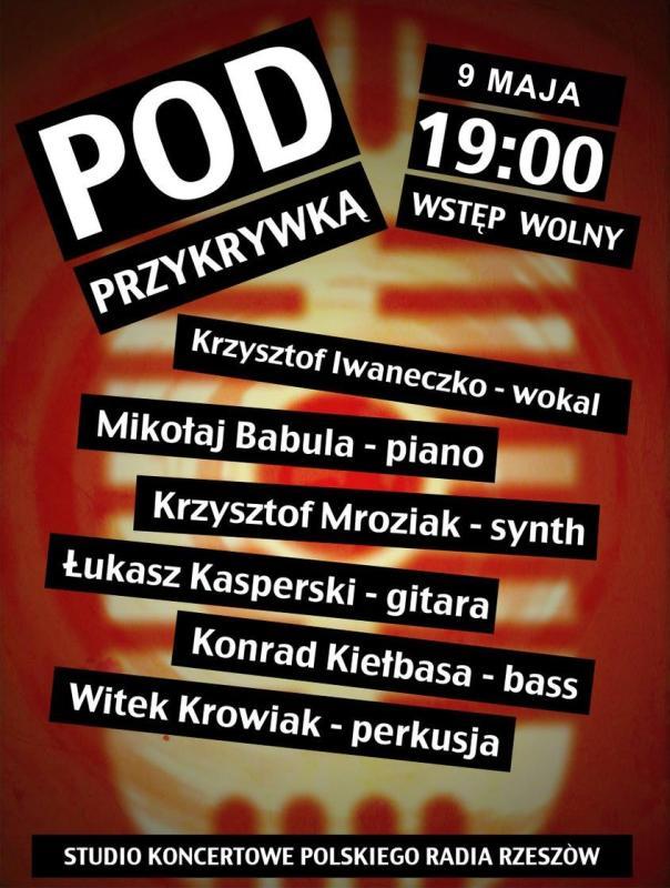 Pod Przykrywką koncert w Radio Rzeszów
