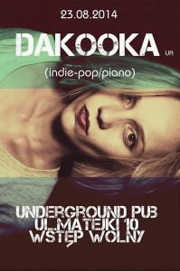 koncert DaKooka rzeszow underground pub