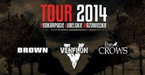 Koncert Brown Venflon Thw Crows klub Vinyl Rzeszow