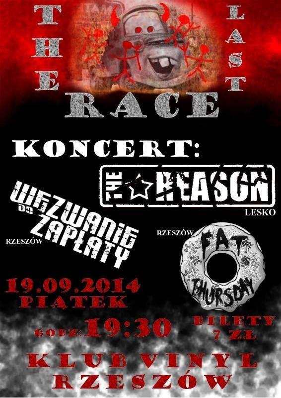Koncert Last Race Klub Vinyl