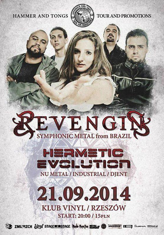 REVENGIN w klubie Vinyl, Rzeszów