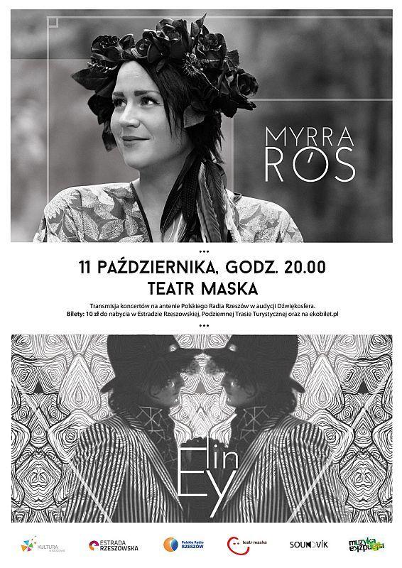 Myrra Rós i Elín Ey - koncert w Teatrze Maska, Rzeszów