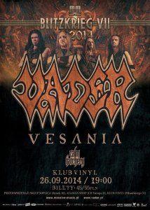 Koncert zespołu VADER, Rzeszów