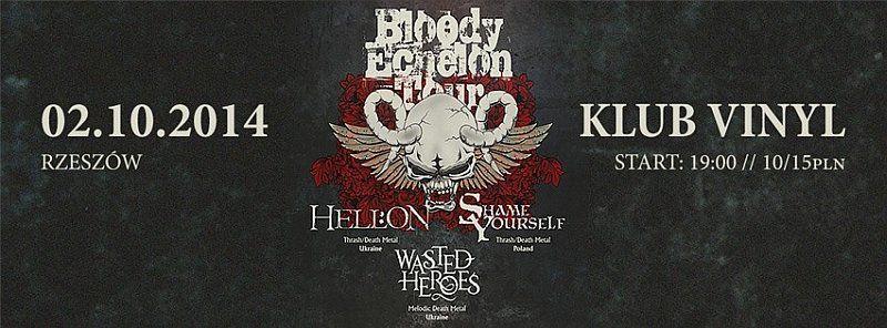 Trasa K oncertowa Bloody Echelon Tour