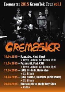 Cremaster koncert wrzeszowskim klubie Vinyl