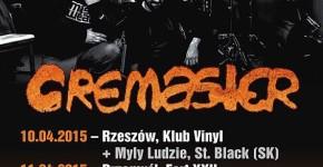 Cremaster koncert w rzeszowskim klubie Vinyl
