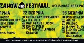 Cieszanow Rock Festiwal 2015