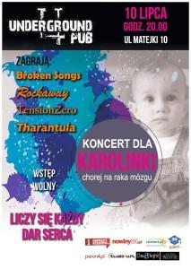 Koncert w Undergroun dla Karolinki