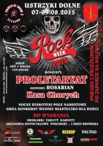 Proletaryat Zlot motocyklowe 2015 Rock Week