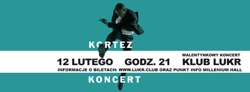Kortez - koncert w klubie LUKR