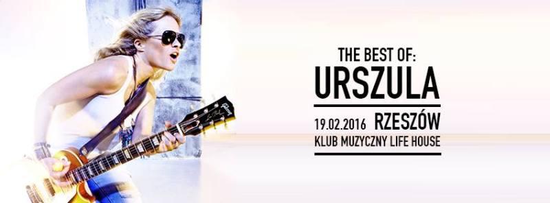 Urszula - koncert w Rzeszowie w klubie LifeHouse
