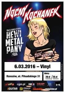 Nocny Kochanek koncert w klubie Vinyl