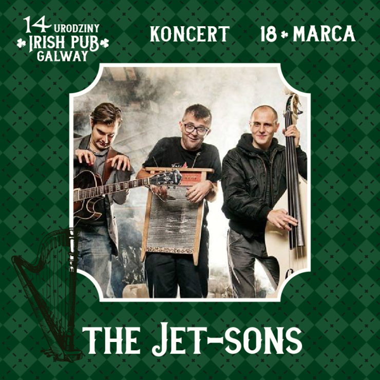 The Jet-Sons koncert w Irish Pub