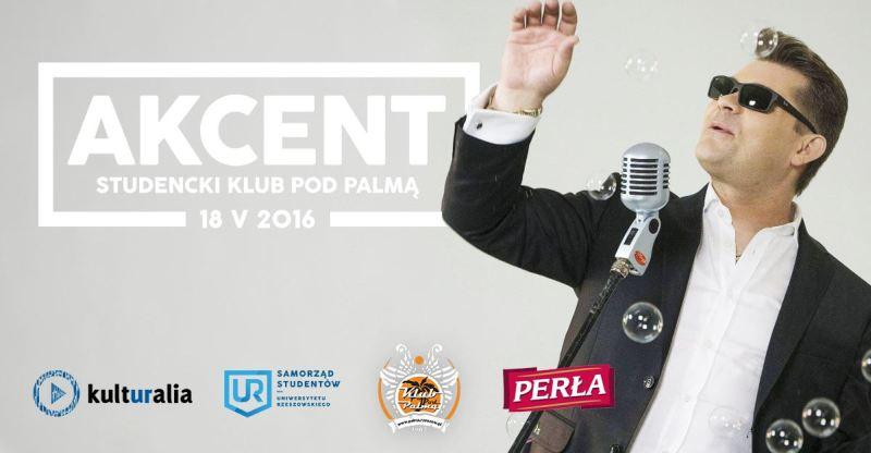 Zenon Martyniuk z zespołem AKCENT w klubie Pod Palmą