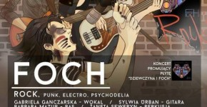 Koncert zespołu FOCH w pubie Mikrofon