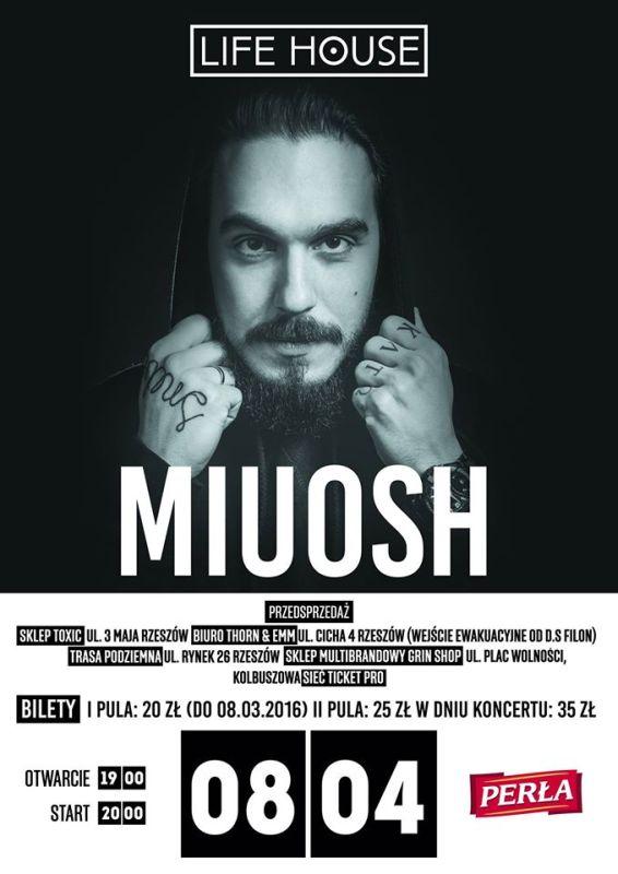 MIUOSH - koncert w rzeszowskim klubie Life House