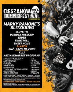 Cieszanow Rock Festiwal 2016