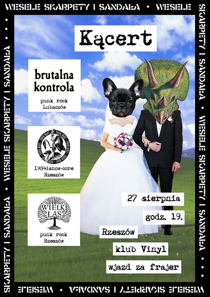 koncert Brutalna Kontrola Klub Vinyl Rzeszow