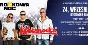 Rockowa Noc 2016. Koncert zespołu Kobranocka, Rzeszów