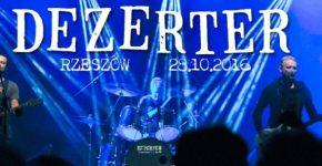 Dezerter, koncert Pod Palmą Rzeszów
