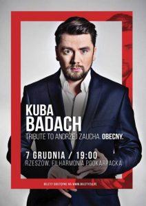 Kuba Badach już w grudniu w Filharmonii Podkarpackiej