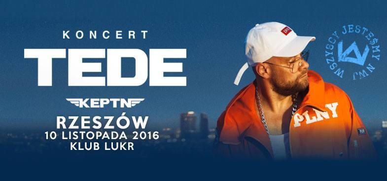 TEDE w Rzeszowie, koncert w klubie LUKR