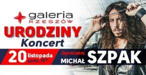 Koncert Michała Szpaka w Galerii Rzeszów