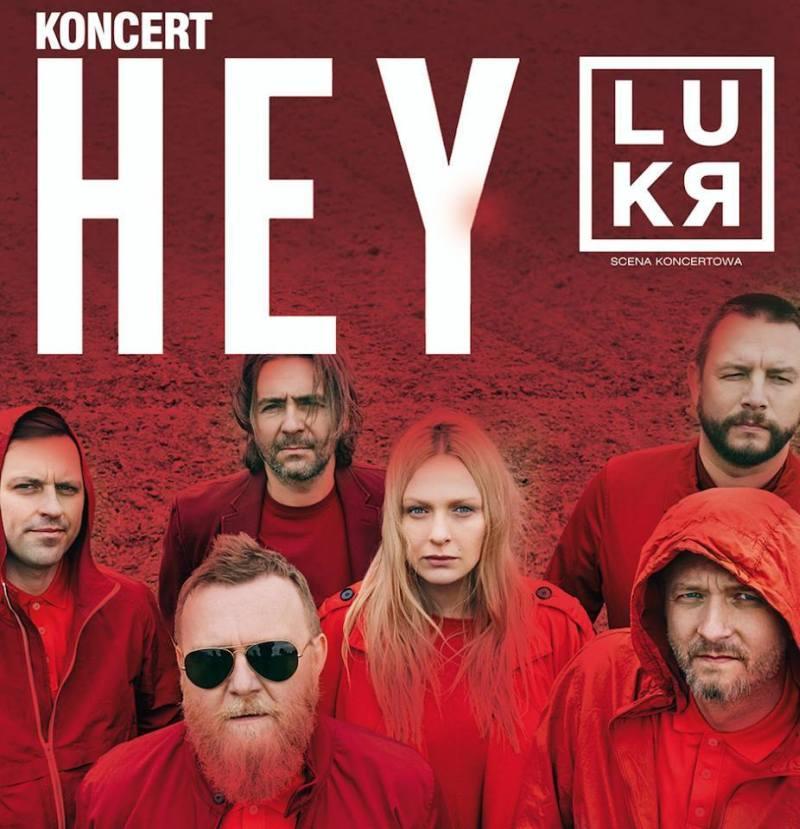 Koncert zespołu HEY w klubie LUKR