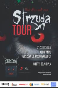 Koncert Vinyl klub 21.01 Percival Schuttenbach - Rzeszów