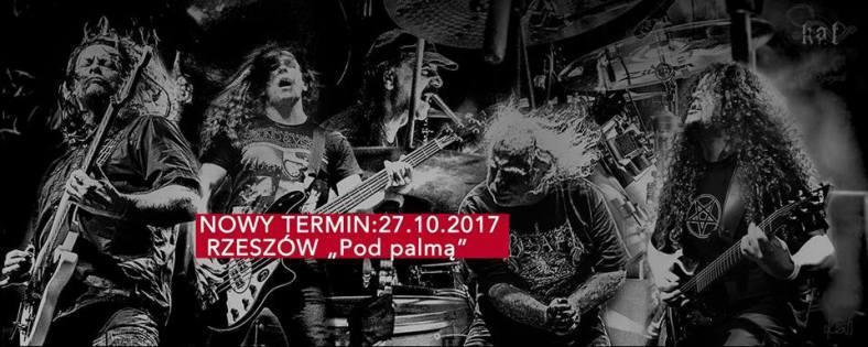 Kat - Zmiana daty koncertu w Rzeszowie