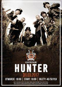 Hunter Pod Palma koncerty w Rzeszowie