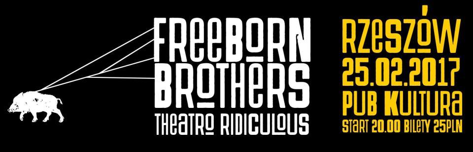 The Freeborn Brothers koncert Rzeszow