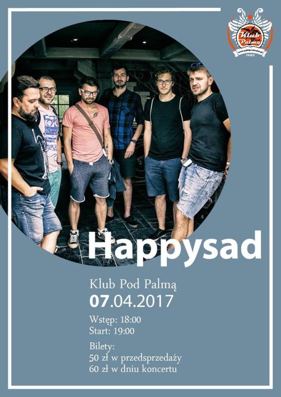 """Happysad w płytą """"Ciało obce"""". Koncert Pod Palmą"""