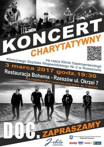 Koncert charytatywny zespołu DOC