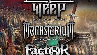 Koncert Divine Weep, Monasterium i Factor 8 w klubie Vinyl