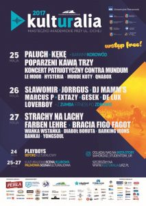 Kulturalia 2017 plakat