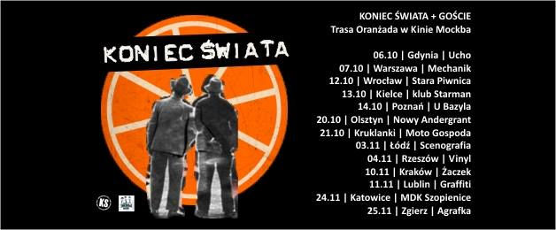 Koniec Świata Klub Vinyl Koncert