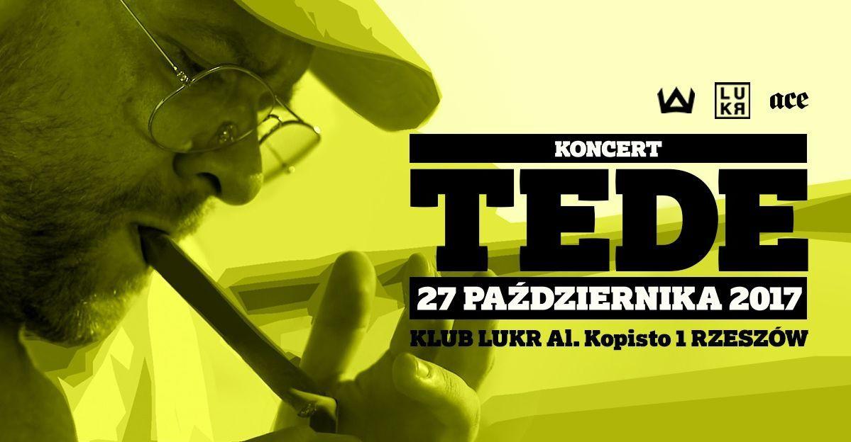 TEDE koncert w Rzeszowie LUKR