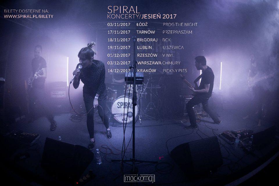 Spiral w klubie Vinyl