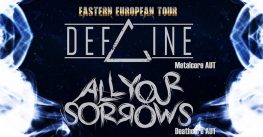 Defline + All Your Sorrows + Deathcore w klubie Vinyl